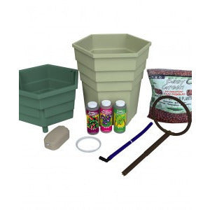 General Hydroponics PowerGrower, Single Unit - Top Drip Hydroponic System - Rogue Hydro - 2