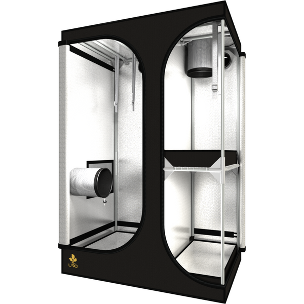 Secret Jardin Lodge 90 v2.6 L90 2x3x4.4 2 Station Grow Tent - Two-Station Grow Tent - Rogue Hydro - 4