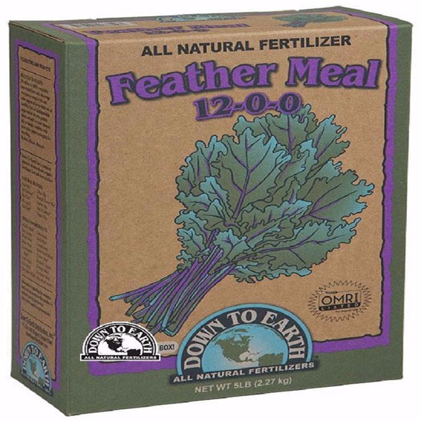 Down To Earth Feather Meal 12-0-0, 5 Pounds