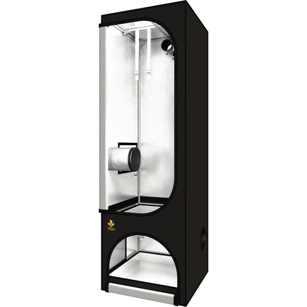 Secret Jardin Twin 60 v2.6 T60 2x2x6.25 2 Station Grow Tent - 2x2 Grow Tent - Rogue Hydro - 1