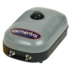 Elemental O2 Air Pump, 127 gph - Air Pumps - Rogue Hydro - 1