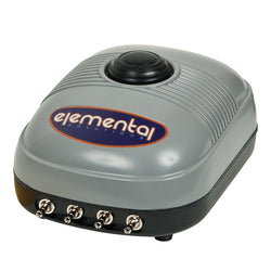 Elemental O2 Air Pump, 254 gph - Air Pumps - Rogue Hydro - 1