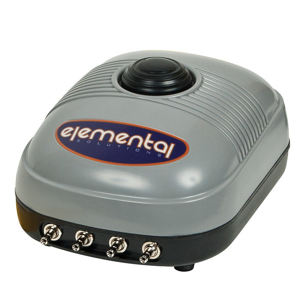 Elemental O2 Air Pump, 254 gph - Air Pumps - Rogue Hydro