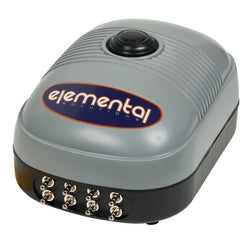 Elemental O2 Air Pump, 380 gph - Air Pumps - Rogue Hydro - 1