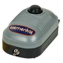 Elemental O2 Air Pump, 44 gph - Air Pumps - Rogue Hydro - 1