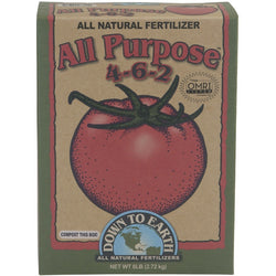 Down To Earth All Purpose Mix 4-6-2, 6 Pounds - All-Purpose Fertilizer - Rogue Hydro - 1