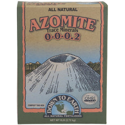 Down To Earth Azomite Powder, 6 Pounds - Azomite - Rogue Hydro