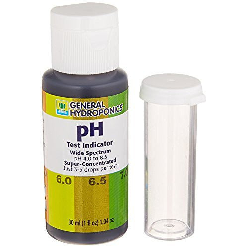 General Hydroponics pH Test Kit