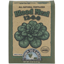 Down To Earth Blood Meal 12-0-0, 1/2 Poun