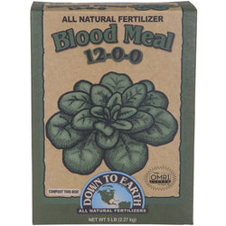 Down To Earth Blood Meal 12-0-0, 5 Pounds - Blood Meal - Rogue Hydro