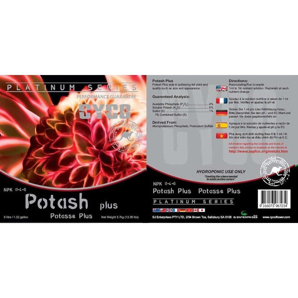 Cyco Potash Plus, 1 Liter - Bloom Boosters - Rogue Hydro - 2