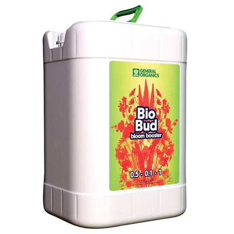 General Organics BioBud, 6 Gallons - Bloom Boosters - Rogue Hydro