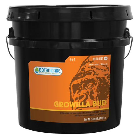 Botanicare Growilla Bud, 25 Pounds - Bloom Nutrients - Rogue Hydro