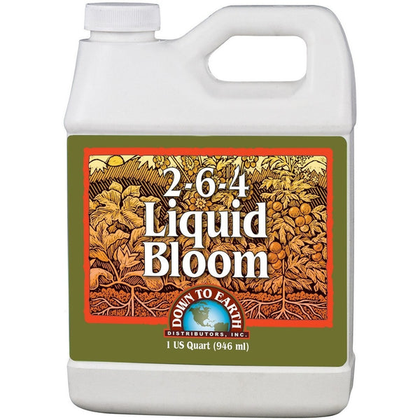 Down To Earth Bloom Fertilizer 2-6-4, 1 Quart