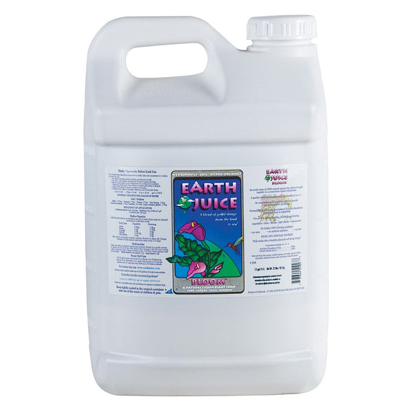 Earth Juice Bloom, 2.5 Gallons - Bloom Nutrients - Rogue Hydro