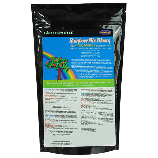 Earth Juice Rainbow Mix Bloom, 2 Pounds - Bloom Nutrients - Rogue Hydro