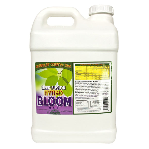 Humboldt County's Own Deep Fusion Bloom Hydro, 2.5 Gallons - Bloom Nutrients - Rogue Hydro