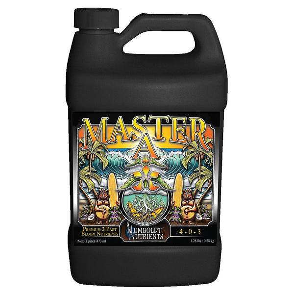 Humboldt Nutrients Master A, 1 Gallon - Bloom Nutrients - Rogue Hydro