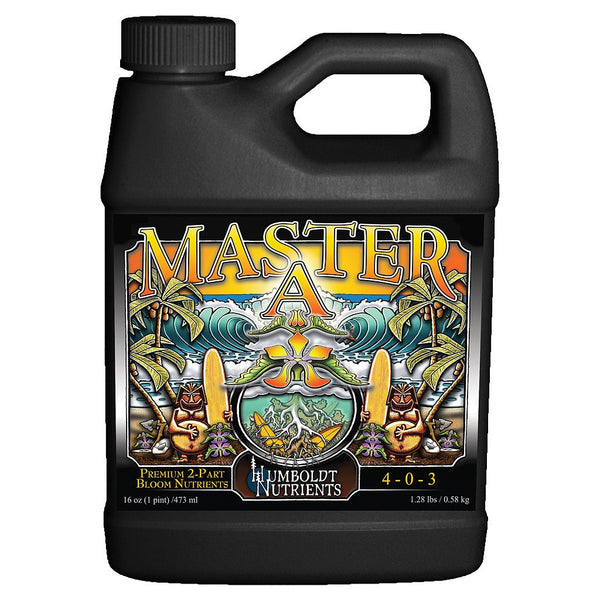 Humboldt Nutrients Master A, 1 Quart - Bloom Nutrients - Rogue Hydro