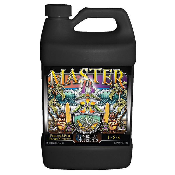 Humboldt Nutrients Master B, 1 Gallon - Bloom Nutrients - Rogue Hydro