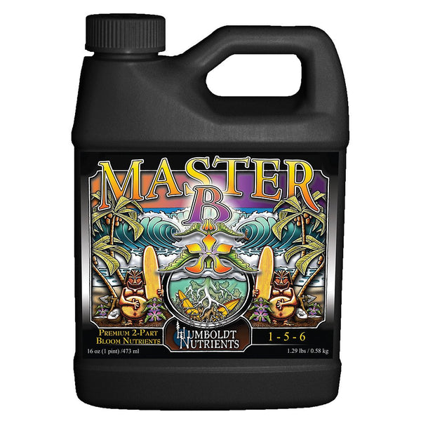 Humboldt Nutrients Master B, 1 Quart - Bloom Nutrients - Rogue Hydro