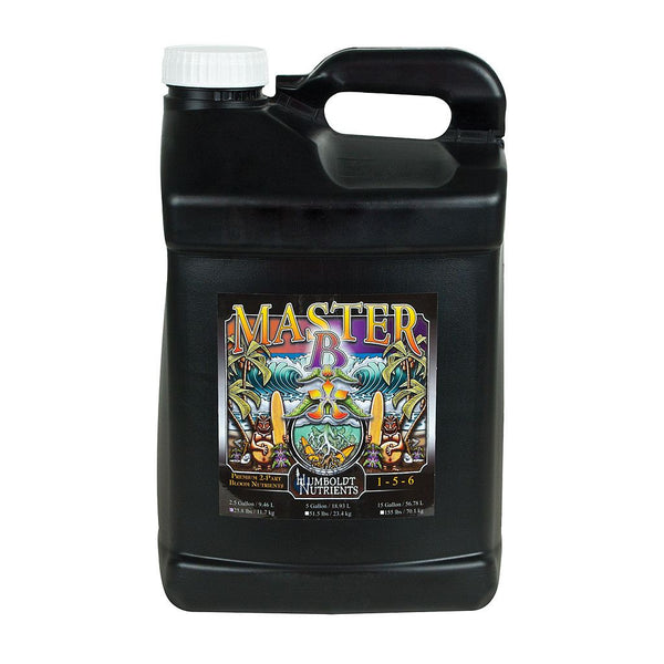 Humboldt Nutrients Master B, 2.5 Gallons - Bloom Nutrients - Rogue Hydro