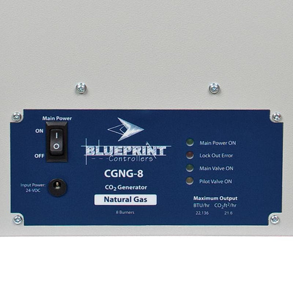 Blueprint CO2 Generator NG, CGNG-8