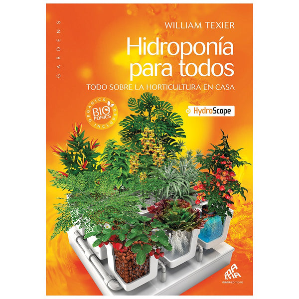 Hydroponics for Everybody (Spanish) - Book - Rogue Hydro