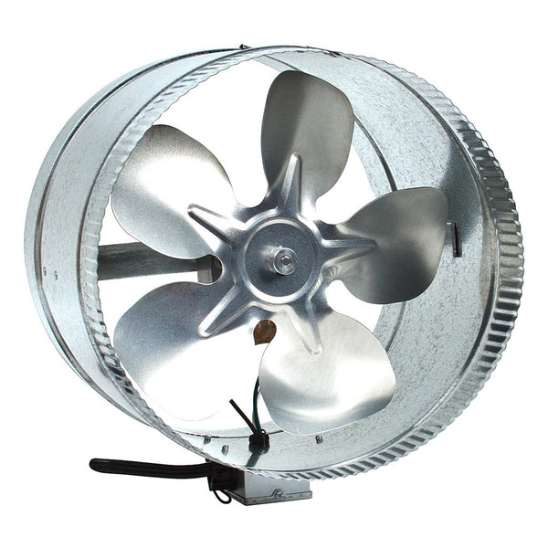 "DuraBreeze Duct Fan, 10"", 300 cfm - Booster Fans - Rogue Hydro"