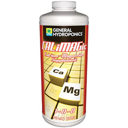 General Hydroponics CaliMagic, 1 Quart - Cal-Mag Supplement - Rogue Hydro - 1