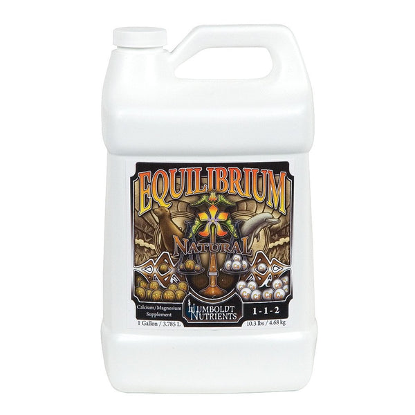 Humboldt Nutrients Equilibrium Natural, 1 Gallon - Cal-Mag Supplement - Rogue Hydro