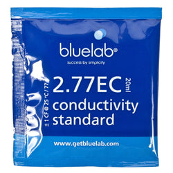 Bluelab EC Solution, 20 ml Sachet - Calibration Solution - Rogue Hydro - 1