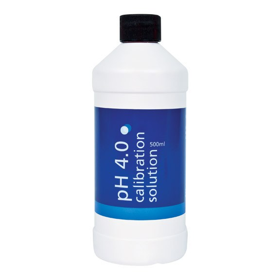 Bluelab pH 4 Solution, 500 ml - Calibration Solution - Rogue Hydro