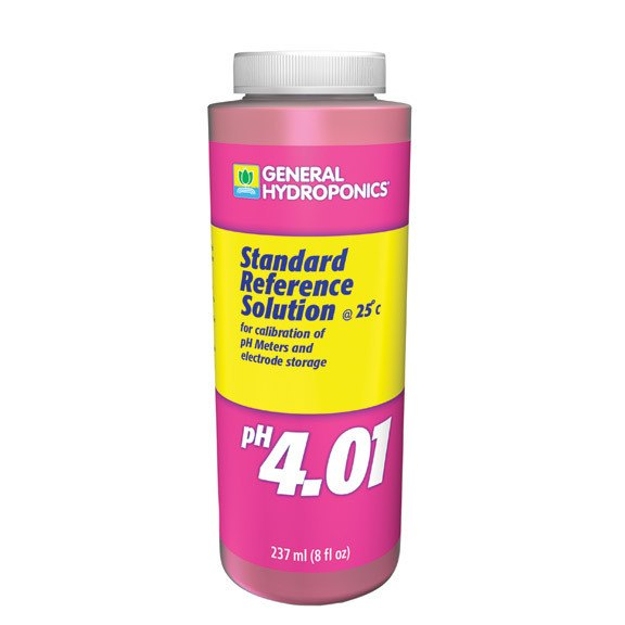 General Hydroponics pH Calibration 4.01 Solution, 8 Ounces