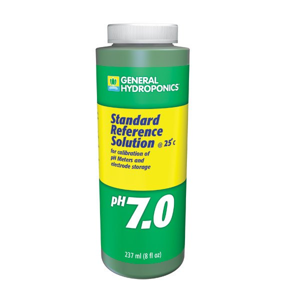 General Hydroponics pH Calibration 7.0 Solution, 8 Ounces - Calibration Solution - Rogue Hydro