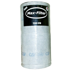 Can Max-Filter 2500 w/o Flange, 1250 cfm - Carbon Filter - Rogue Hydro