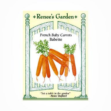 Renee's Garden Babette French Baby Carrots - Carrots - Rogue Hydro - 1