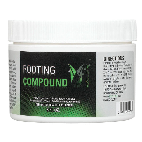 EZ-Clone Rooting Compound, 8 Ounces - Cloning Gel - Rogue Hydro