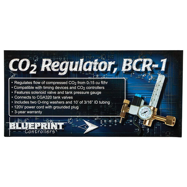 Blueprint CO2 Regulator, BCR-1 - Co2 Regulator - Rogue Hydro - 2
