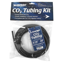 "Blueprint CO2 Tubing Kit 3/16"", 20'"