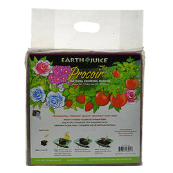 Earth Juice Procoir Pure Coco-Coir Bale 11 Pounds, 2.5-3 CU FT