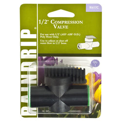 "Raindrip 1/2"" Compression Shut-Off - Compression Fitting - Rogue Hydro"