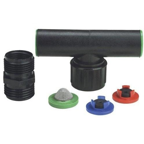 "Raindrip Swivel Tee Assembly for 1/2"" Riser, Single - Compression Fitting - Rogue Hydro"