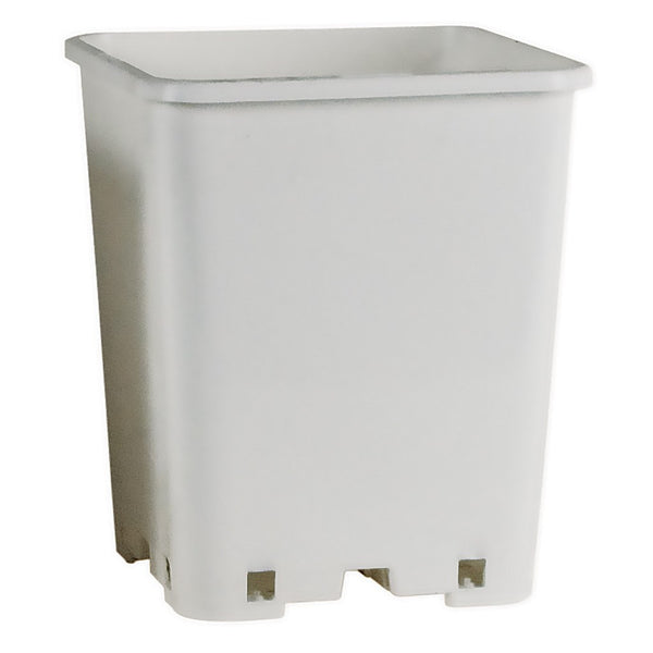 Botanicare Square White Pot, 7""