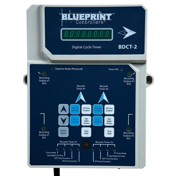 Blueprint Digital Cycle Timer, BDCT-2 - Cycle Timer - Rogue Hydro