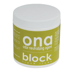 Ona Block Fresh Linen, 6 Ounces - Deodorizer Block - Rogue Hydro - 1
