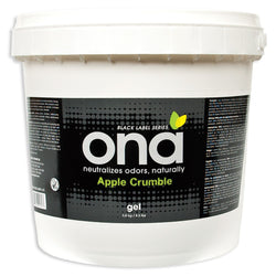 ONA Gel Apple Crumble Pail, 4 Liters - Deodorizer Gel - Rogue Hydro