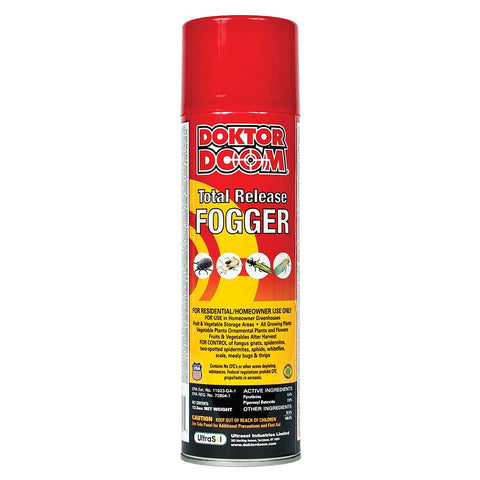 Doktor Doom Total Release Fogger, 12.5 Ounces - Disease and Pest Control - Rogue Hydro