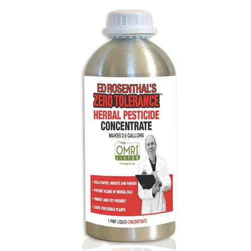 Ed Rosenthal's Zero Tolerance Concentrate Herbal Pesticide, 1 Pint - Disease and Pest Control - Rogue Hydro