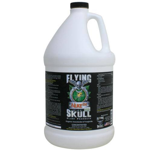 Flying Skull Nuke Em Organic Insecticide and Fungicide - Disease and Pest Control - Rogue Hydro - 4